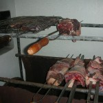 Traditionell brasiliansk churrasco